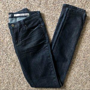 DKNY Soho Skinny Dark Wash Jeans